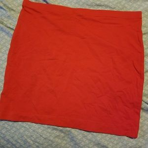 Fitted mini skirt lot